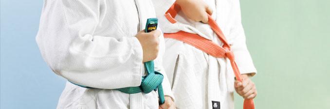 Les différents ceintures de judo