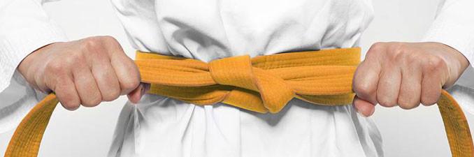 Ceinture jaune judo